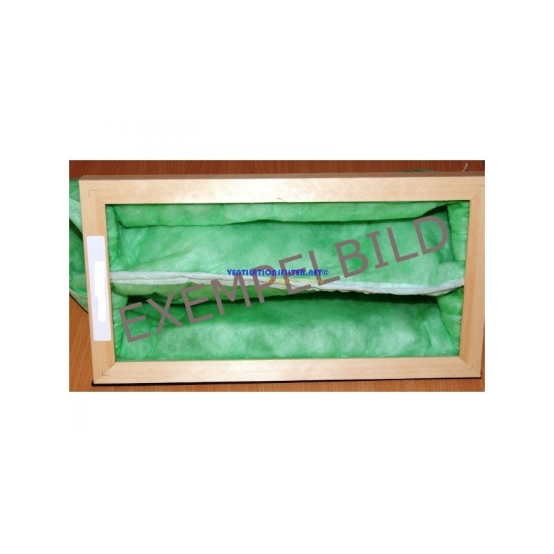 Påsfilter F5 592x592x400-6